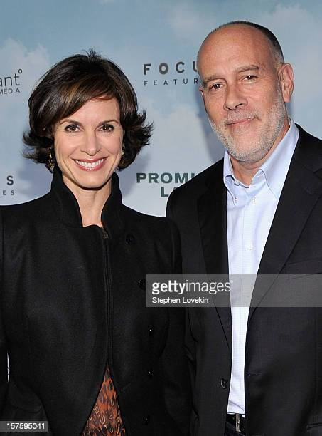 Elizabeth Vargas and Marc Cohn attend 'Promised Land' premiere at AMC Loews Lincoln Square 13 theater on December 4 2012 in New York City