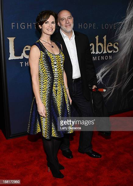 Elizabeth Vargas and Marc Cohn attend the 'Les Miserables' New York Premiere at Ziegfeld Theatre on December 10 2012 in New York City