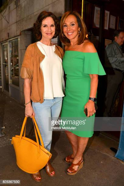 Elizabeth Vargas and Rosanna Scotto attend Michael Gelman Celebrates The Launch Of CLASS MOM A Novel By Laurie Gelman at Loi Estiatorio on July 26...