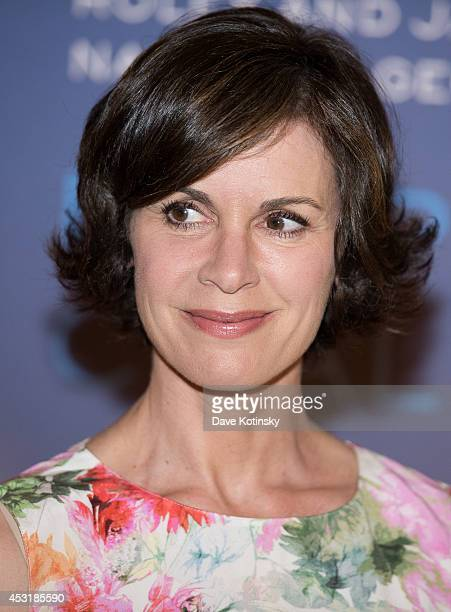 Elizabeth Vargas arrives at the 'Deepsea Challenge 3D' New York Premiere at the American Museum of Natural History on August 4 2014 in New York City