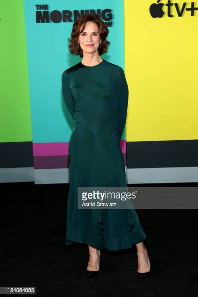 Elizabeth Vargas attends Apple TV's The Morning Show World Premiere at David Geffen Hall on October 28 2019 in New York City