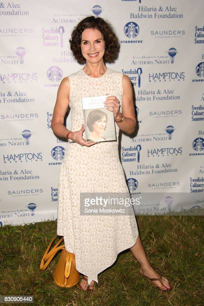 Elizabeth Vargas attends Author's Night 2017 to benefit the East Hampton Library on August 12 2017 in East Hampton New York