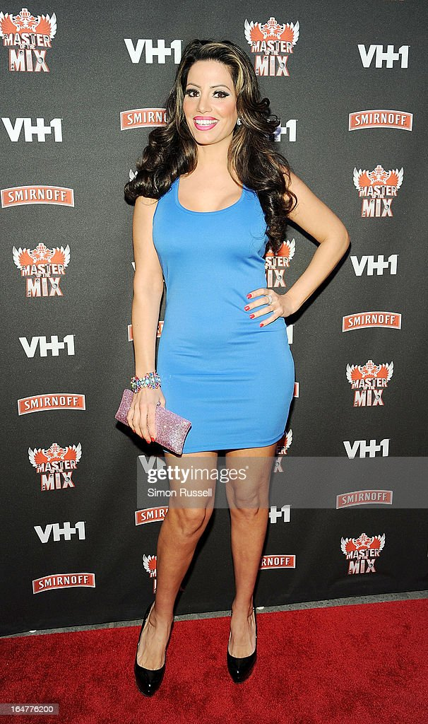 Elizabeth Vashisht attends the 'Masters Of The Mix' Season 3 Premiere at Marquee on March 27, 2013 in New York City.