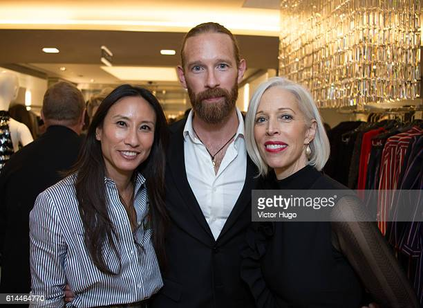 Elizabeth Von Der Goltz Guest and Linda Fargo Celebrate the 35th Anniversary at Bergdorf Goodman and the Release of 'Slim Aarons Women' by Getty...