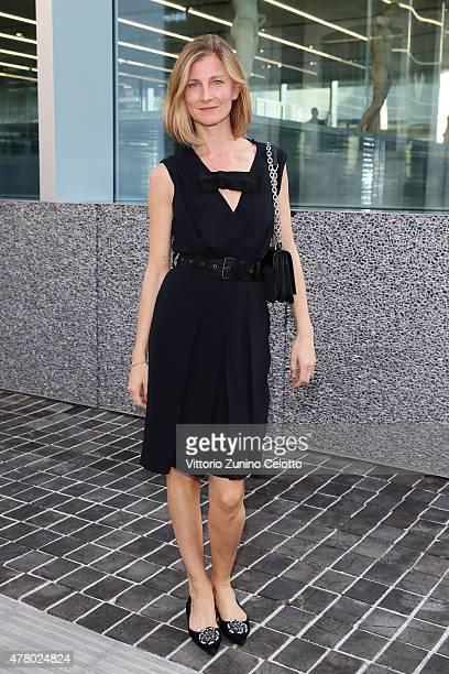 Elizabeth von Guttaman attends Prada Menswear Spring/Summer 2016 Cocktail Party at Fondazione Prada at Fondazione Prada on June 21 2015 in Milan Italy