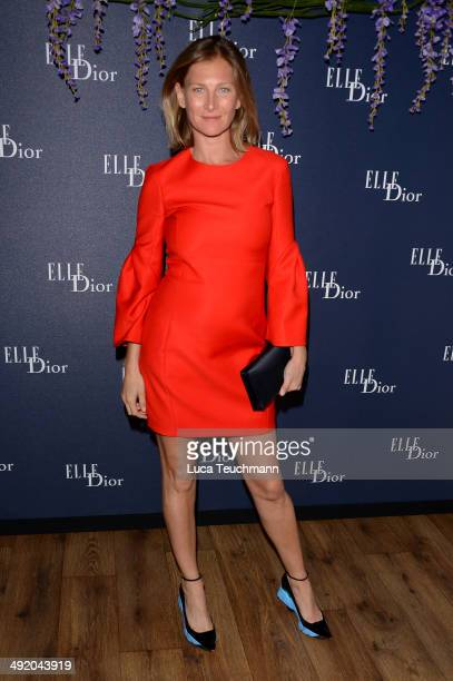 Elizabeth Von Guttman attends the Dior & ELLE Magazine Dinner at the 67th Annual Cannes Film Festival at Albane by Costes, JW Marriott Rooftop on May...