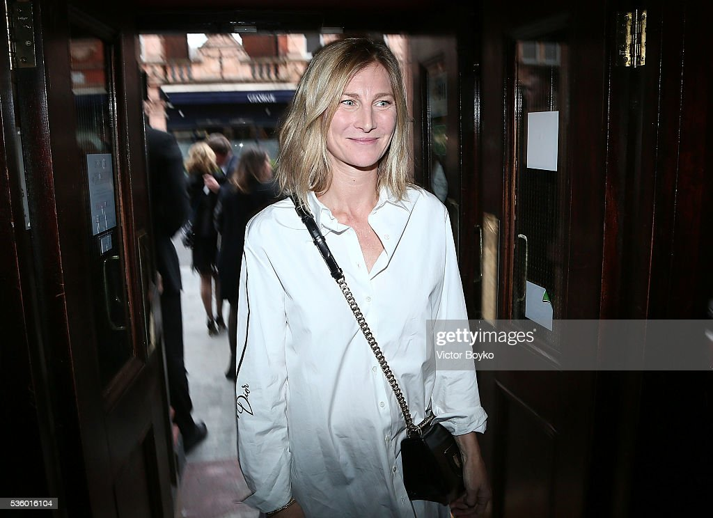 Elizabeth Von Guttman attends the Dior Welcome Dinner at the Lady Dior Pub to celebrate the Cruise Collection 2017 on May 30, 2016 in London, England.