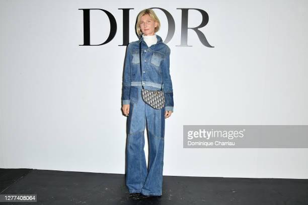 Elizabeth Von Guttman attends the Dior Womenswear Spring/Summer 2021 show as part of Paris Fashion Week on September 29, 2020 in Paris, France.