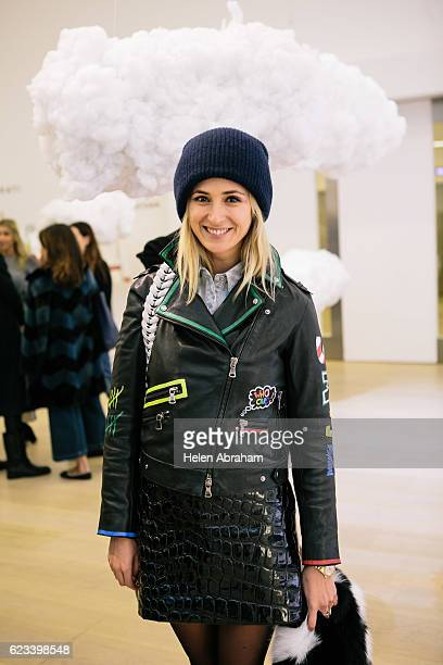 Elizabeth Von Thurn Und Taxis attends the Mira Mikati Launch London at Phillips Gallery on November 15 2016 in London England