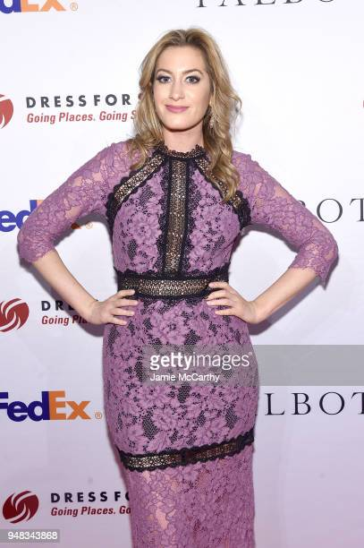 Elizabeth Wagmeister attends the Dress for Success Be Bold Gala at Cipriani Wall Street on April 18 2018 in New York City