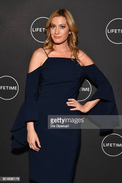 Elizabeth Wagmeister attends the exclusive premiere event of Lifetime's new show Glam Masters with the cast and executive producer at Dirty French on...