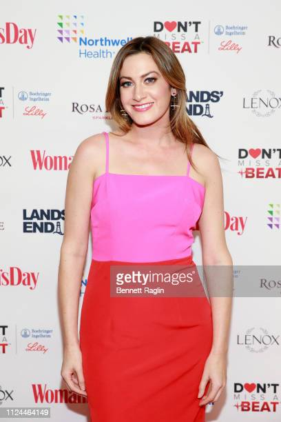 Elizabeth Wagmeister attends Woman's Day Celebrates 16th Annual Red Dress Awards on February 12 2019 in New York City