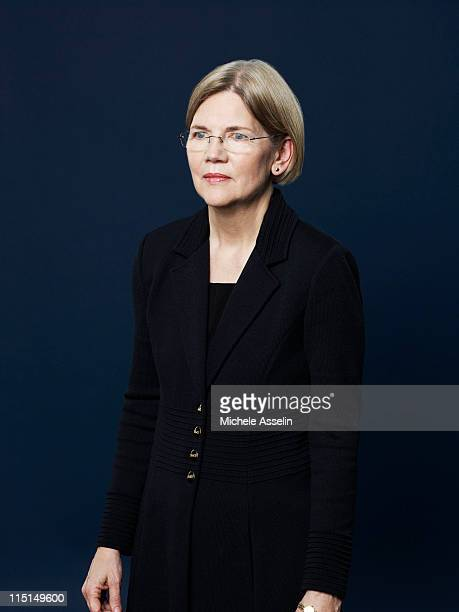 Elizabeth Warren Mary Schapiro Sheila Bair for Time Magazine NY in Washington United States