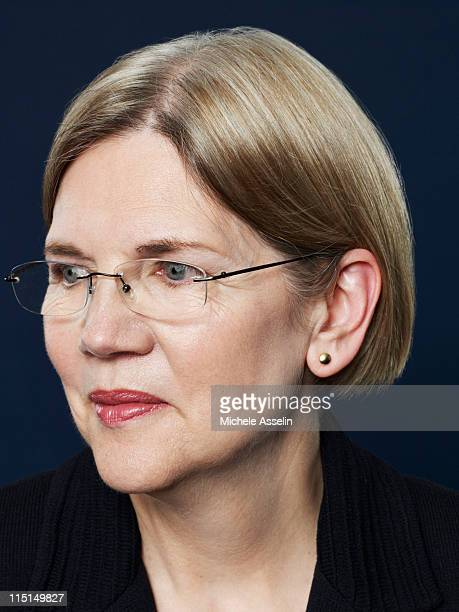Elizabeth Warren Mary Schapiro Sheila Bair for Time Magazine NY in Washington United States