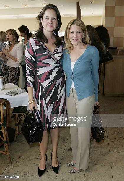 Elizabeth Wiatt and Jenny Belushi during Frederic Malle Fragrance Launch Breakfast at Barneys New York in Beverly Hills at Barney's Greengrass in...