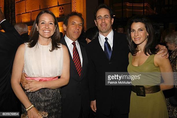Elizabeth Wiatt Jim Wiatt Jerry Seinfeld and Jessica Seinfeld attend VANITY FAIR Tribeca Film Festival Party hosted by Graydon Carter and Robert...