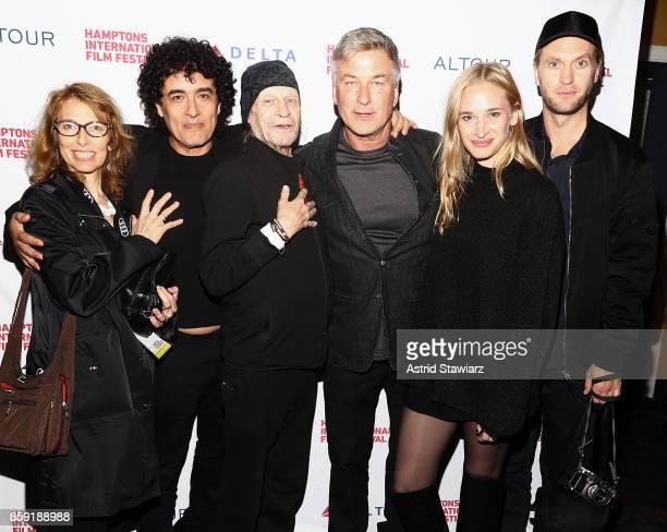 Elizabeth Yoffe Director Tony Zierra Film subject Leon Vitali Co Chair of the Hamptons International Film Festival Alec Baldwin Vera Vitali Max...