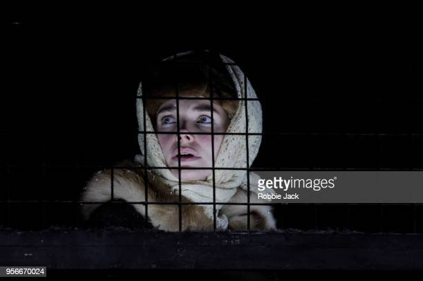 Elizaveta Boyarskaya as Zhenya in the Maly Drama Theatre's production of Vasily Grossman's Life and Fate directed by Lev Dodin at Theatre Royal...