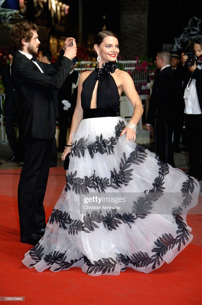 Elizaveta Boyarskaya attends the 'Our Life' Premiere held at the Palais des Festivals during the 63rd Annual International Cannes Film Festival on May 20, 2010 in Cannes, France.