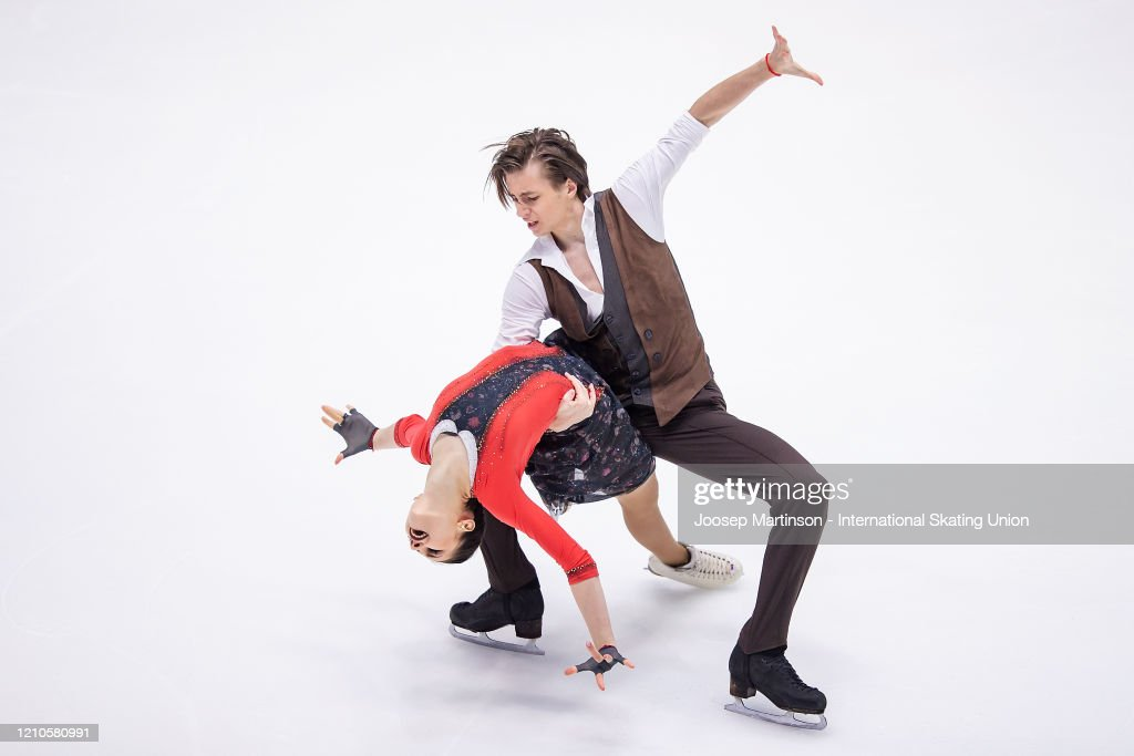 ISU World Junior Figure Skating Championships - Tallinn : News Photo