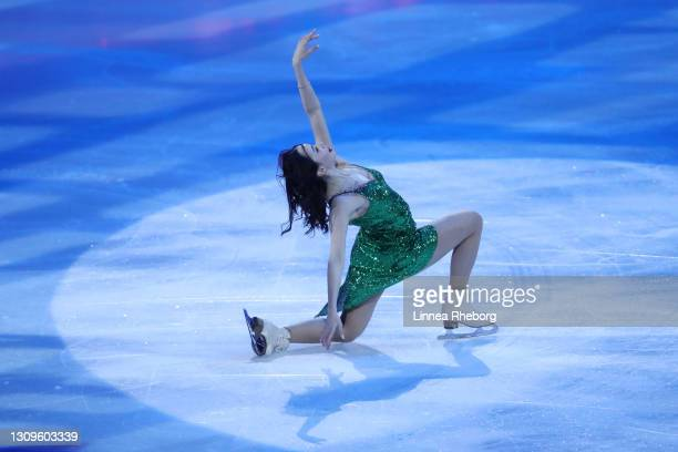 Elizaveta Tuktamysheva of Figure Skating federation of Russia performs during the Gala Exhibition during day five of the ISU World Figure Skating...