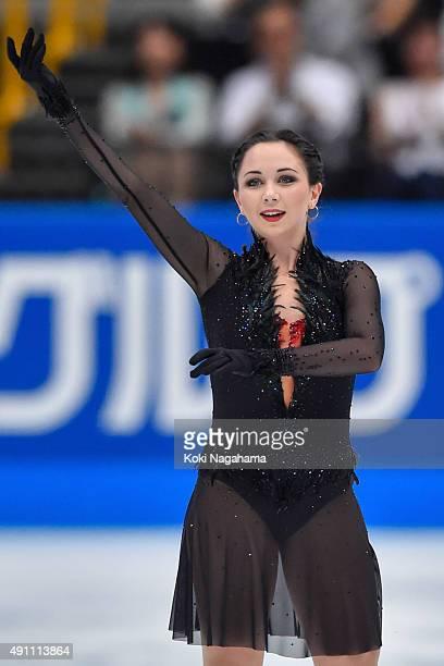 Elizaveta Tuktamysheva of Russia competes in the Ladies Singles Free Skating during the Japan Open 2015 Figure Skating at Saitama Super Arena on...
