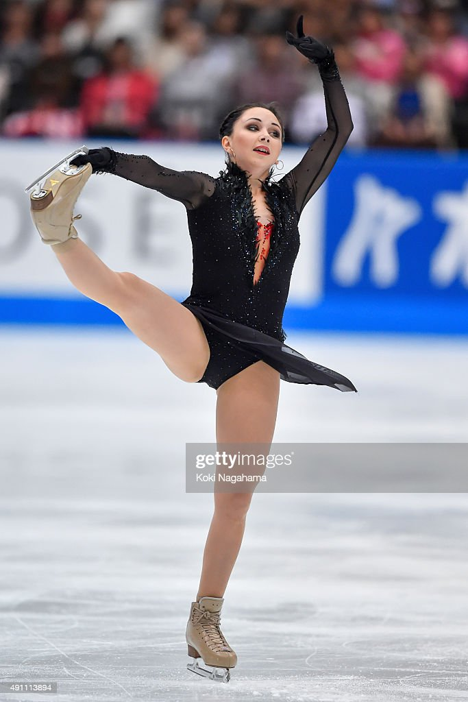 Elizaveta Tuktamysheva of Russia competes in the Ladies Singles Free Skating during the Japan Open 2015 Figure Skating at Saitama Super Arena on October 3, 2015 in Saitama, Japan.