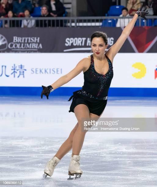 Elizaveta Tuktamysheva of Russia competes in the Short Program of the Women's competition at the ISU Junior and Senior Grand Prix of Figure Skating...