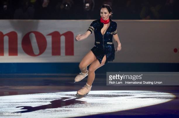Elizaveta Tuktamysheva of Russia performs at the Gala Performance at the ISU Junior & Senior Grand Prix of Figure Skating Final on December 9, 2018...