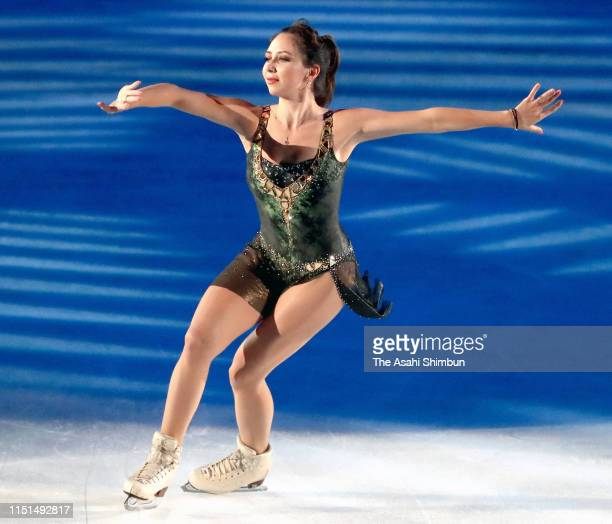 Elizaveta Tuktamysheva of Russia performs during the 'Fantasy On Ice' at Makuhari Messe on May 24, 2019 in Chiba, Japan.