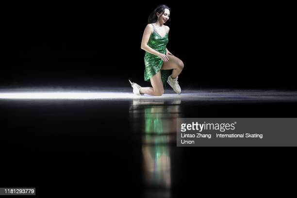 Elizaveta Tuktamysheva of Russia performs in the Gala Exhibition during day three of the ISU Grand Prix of Figure Skating Cup of China at Huaxi...