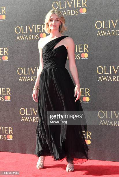 Elize Du Toit arrives for The Olivier Awards 2017 at the Royal Albert Hall on April 9 2017 in London England