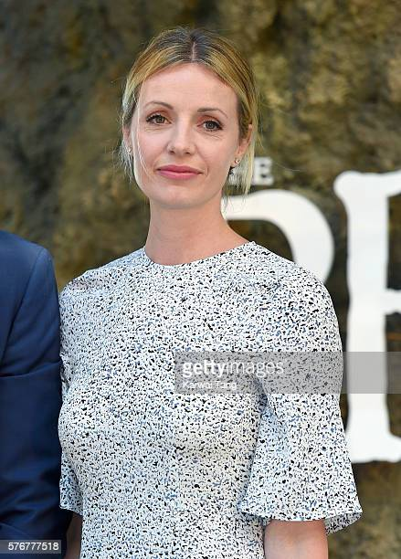Elize du Toit arrives for the UK film premiere of The BFG' at Odeon Leicester Square on July 17 2016 in London England