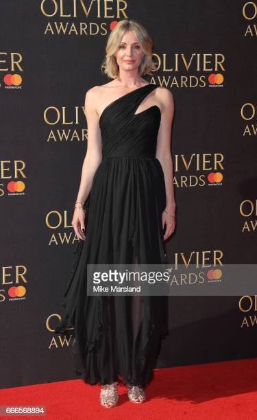 Elize du Toit attends The Olivier Awards 2017 at Royal Albert Hall on April 9 2017 in London England