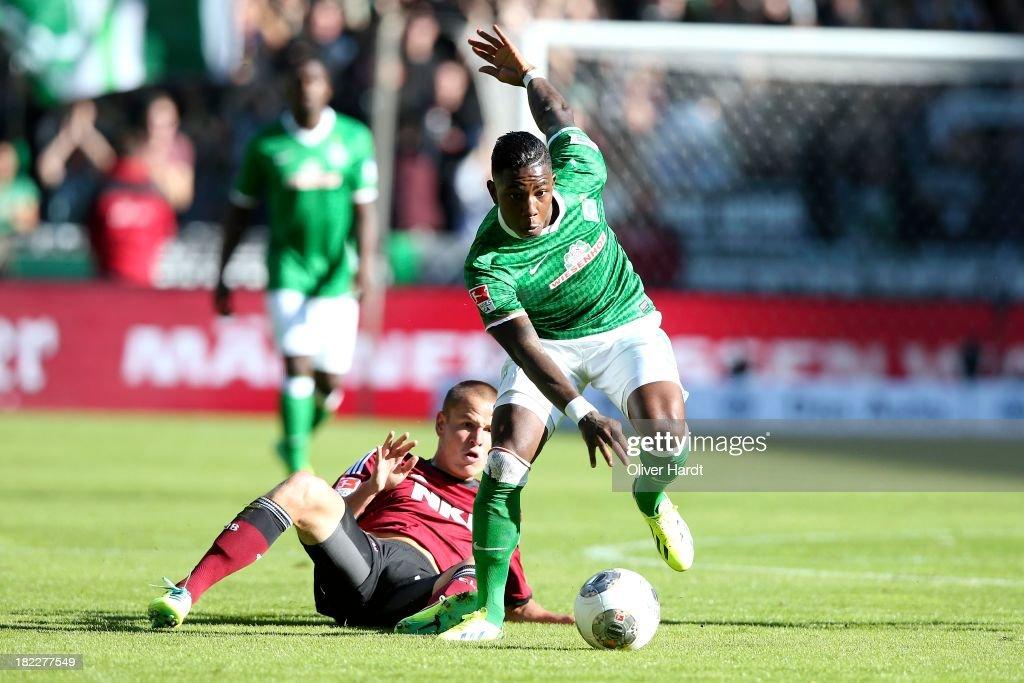 Werder Bremen v 1. FC Nuernberg - Bundesliga