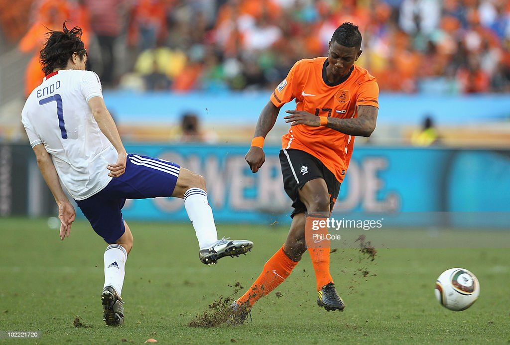 Netherlands v Japan: Group E - 2010 FIFA World Cup : News Photo