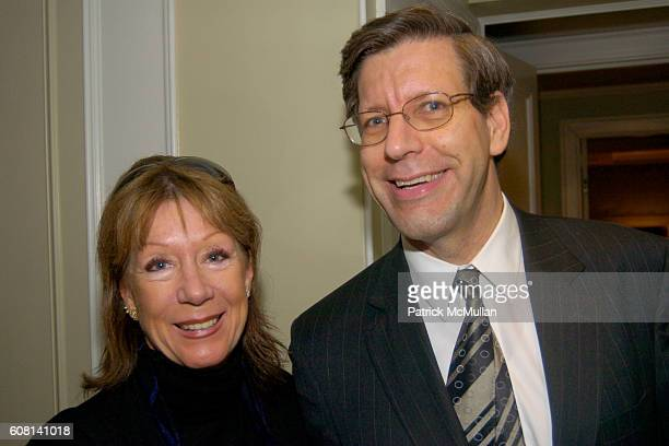 Elke Breyer and Charles attend MICHAEL S SMITH AGRARIA COLLECTION LAUNCH at Lowell Hotel on April 18 2007