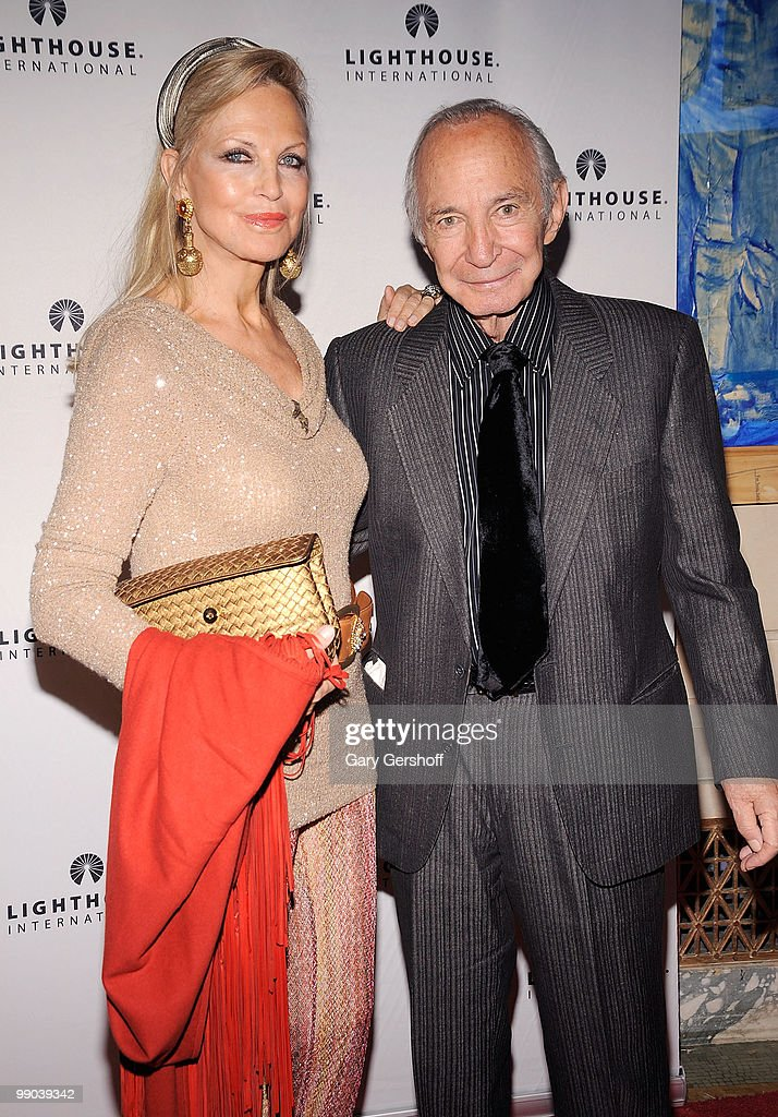 Elke Gazzara (L) and actor Ben Gazzara attend Lighthouse International's A Posh Affair gala at The Oak Room on May 11, 2010 in New York City.