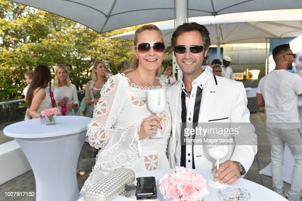 Elke Hofmann and herhusband Bernd Hofmann attend the Christian Dior launch event at Oberpollinger on September 6 2018 in Munich Germany