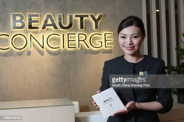 Elke Lau, Beauty Concierge of the DFS at Canton Road, Tsim Sha Tsui. 02MAR15