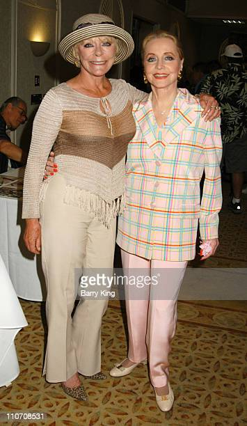 Elke Sommer and Anne Jeffreys during Hollywood Collectors Celebrities Show 2004 at Beverly Garland's Holiday Inn in North Hollywood California United...