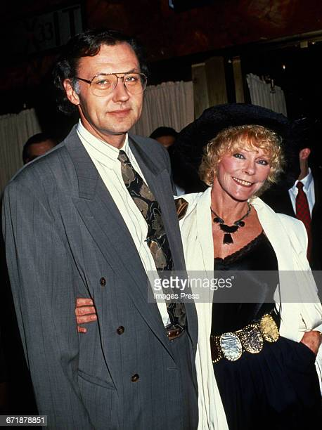 Elke Sommer and husband Wolf Walther circa 1992 in New York City.
