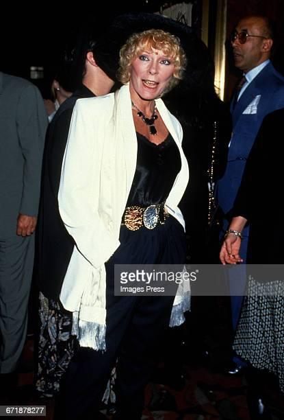 Elke Sommer circa 1992 in New York City.
