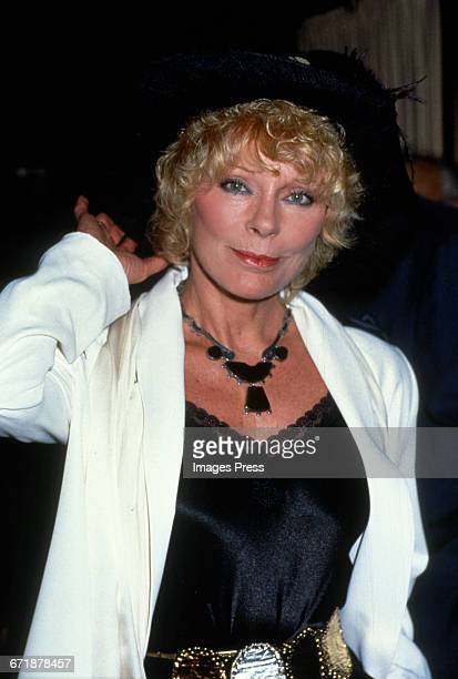 Elke Sommer circa 1992 in New York City
