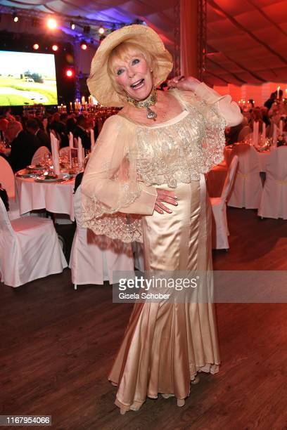 Elke Sommer during the EAGLES Praesidenten Golf Cup Gala Evening on September 13 2019 in Bad Griesbach Germany