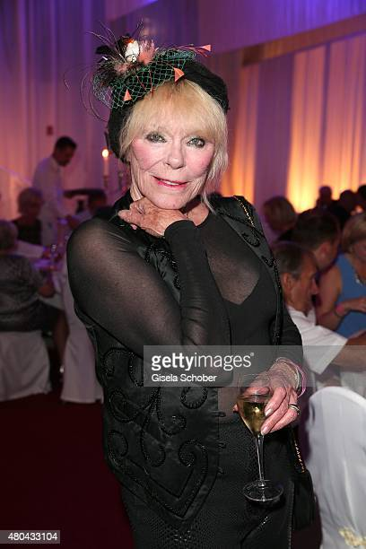 Elke Sommer during the Kaiser Cup 2015 golfcup and gala on July 11 2015 in Bad Griesbach near Passau Germany