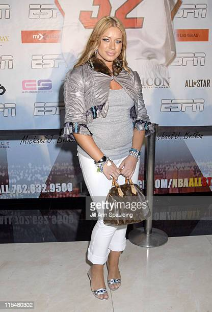 Elke The Stallion during Shaq Day Party at Mix in Las Vegas Nevada United States
