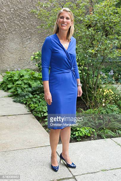 Elke Walthelm Executive Vice President Content Sky Germay attends the Sky Arts Launch event at Koenig Galerie on July 21 2016 in Berlin Germany