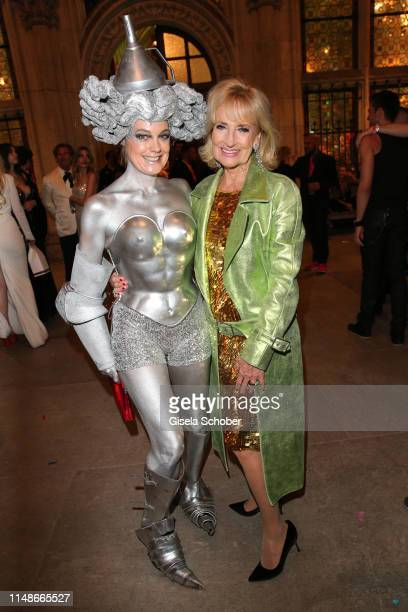 Elke Winkens and Dagmar Koller during the Life Ball 2019 after show party on June 8 2019 in Vienna Austria After 26 years the charity event Life Ball...