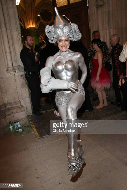 Elke Winkens during the Life Ball 2019 after show party on June 8 2019 in Vienna Austria After 26 years the charity event Life Ball will take place...